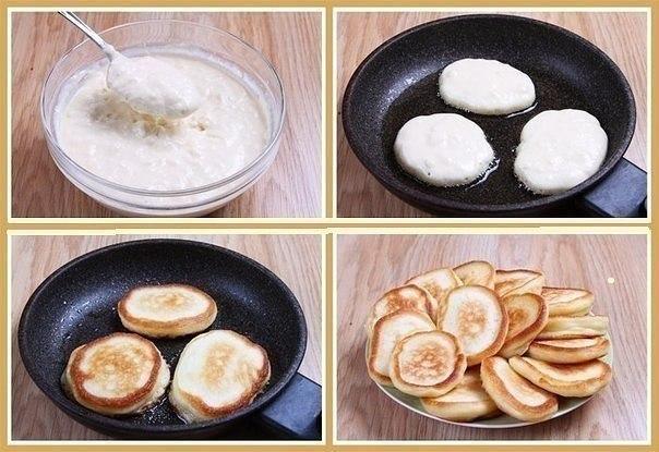 Оладьи вкусные и пышные рецепт с пошагово