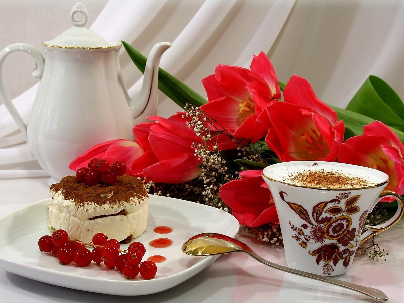 Доброе утро и цветы фото