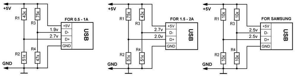 Автомобильное зарядное устройство для телефона usb своими