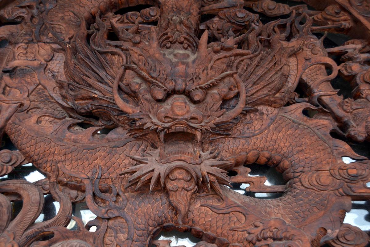 1. Вот такие в Китае драконы.