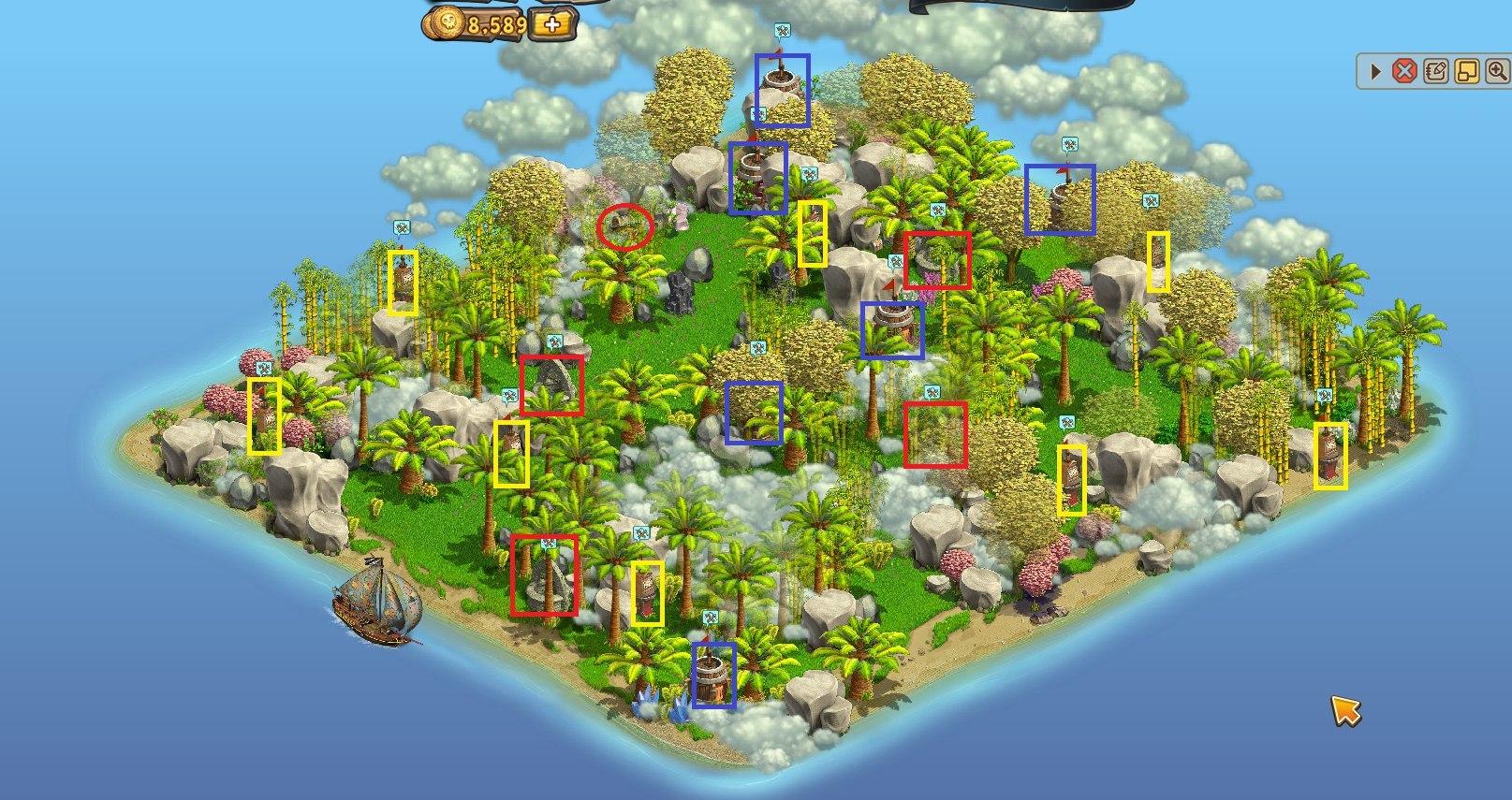 Все острова в картинках зомби фермы