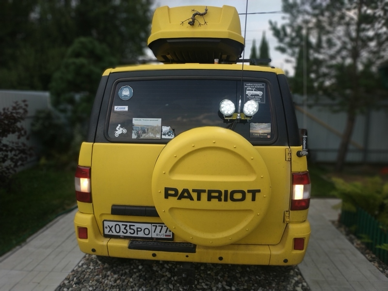 Подсветка на задний ход (2) - УАЗ Патриот